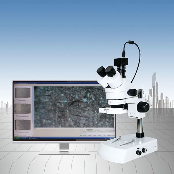 倒置金相测量显微镜